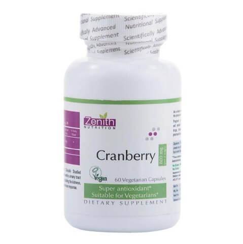 Zenith Nutrition Cranberry (800 mg),  60 capsules