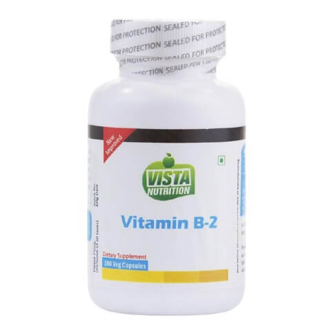 Vista Nutrition Vitamin B2,  Unflavoured  100 capsules