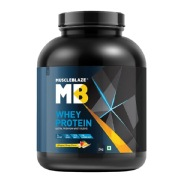 MuscleBlaze Whey Protein,  4.4 lb  Magical Mango