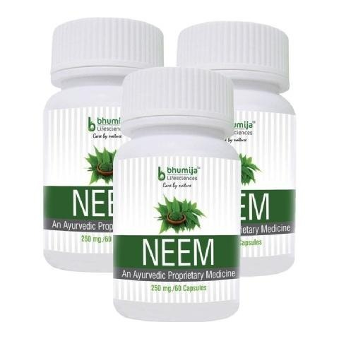 Bhumija Neem,  60 capsules  - Pack of 3