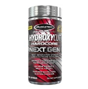 MuscleTech Hydroxycut Hardcore Next Gen,  100 capsules  Unflavoured