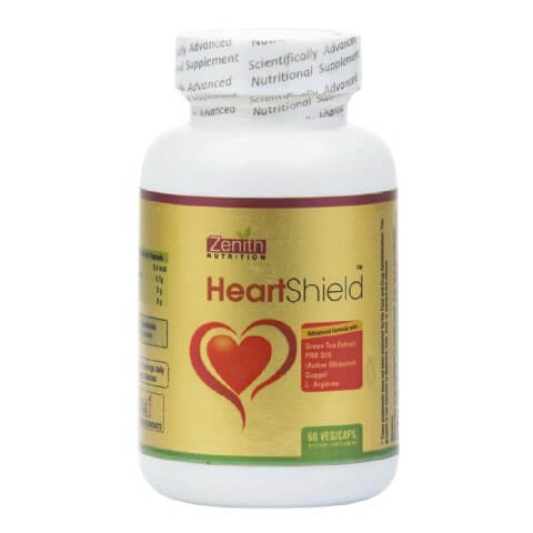 Zenith Nutrition Heart Shield,  Unflavoured  60 veggie capsule(s)