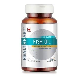 1 - HealthKart Fish Oil 1000mg with 180mg EPA and 120mg DHA OP,  90 capsules