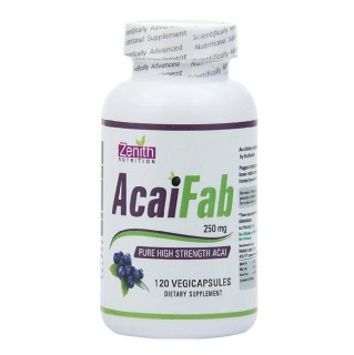 Zenith Nutrition AcaiFab,  120 capsules  Unflavoured