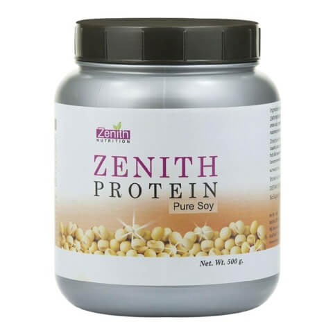 Zenith Nutrition Zenith Protein Pure Soy,  1.1 lb  Unflavoured