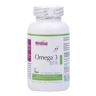 Zenith Nutrition Omega 3 EFA,  120 capsules
