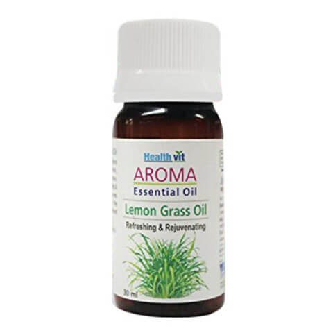 Healthvit Aroma Lemon Grass Essential Oil,  30 ml  for All Skin Types