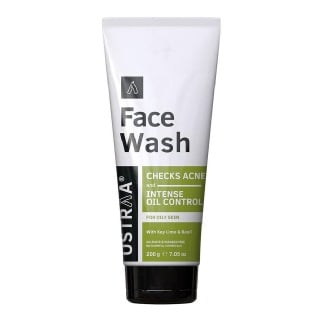 1 - Ustraa Face Wash,  200 g  for Oily Skin