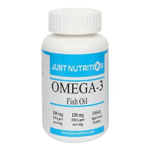 Just Nutrition Omega 3 (1000 mg),  60 softgels