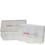 GNC Pill Box,  White  1 Piece(s)/Pack