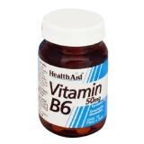 HealthAid Vitamin B6,  Unflavoured  100 tablet(s)