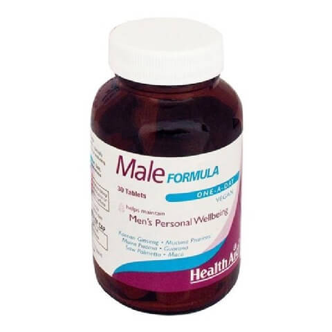 HealthAid Male Formula,  30 tablets/pack
