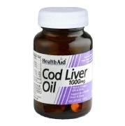 HealthAid Cod Liver Oil,  30 capsules