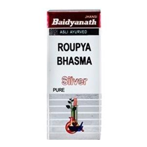 Baidyanath Roupya Bhasma Pure Silver,  2.5 g