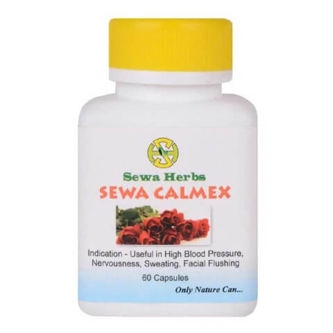 Sewa Herbs Calmex,  60 capsules