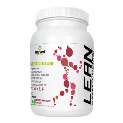 Unived Lean Pea Protein Isolate,  2.51 lb  Fresh Strawberry