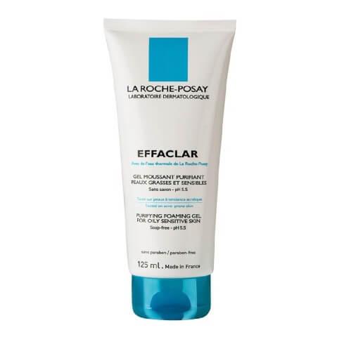 La Roche Effaclar Foaming Gel,  125 ml  for Oily Sensitive Skin