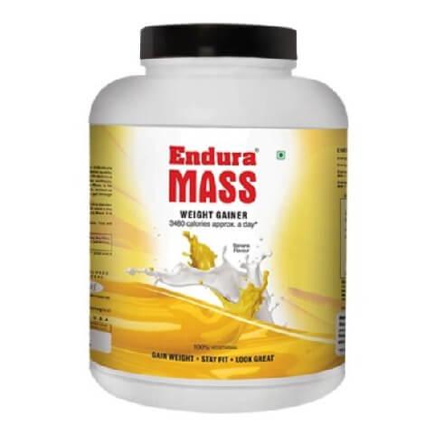 Endura Mass,  6.6 lb  Banana