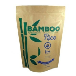 True Elements Nutritional Grains - Bamboo Rice,  Unflavoured  0.500 kg