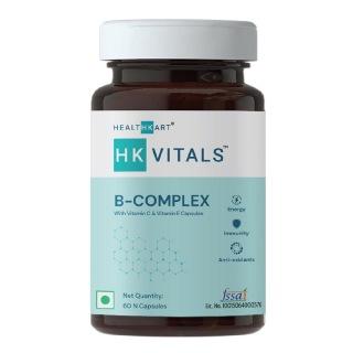 1 - HealthKart B Complex (with Vitamin C & Vitamin E),  60 capsules  Unflavoured