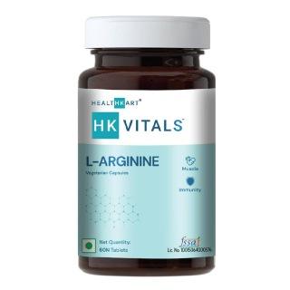 1 - HealthKart L Arginine,  60 capsules