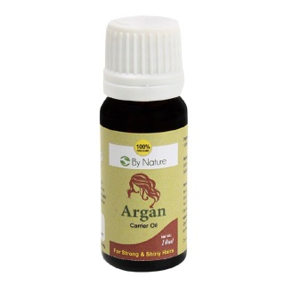 By Nature Argan Carrier Oil,  10 ml  Strong & Shiny Hairs