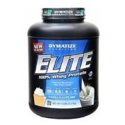 Dymatize Elite 100% Whey Protein,  5 lb  Vanilla Cupcake