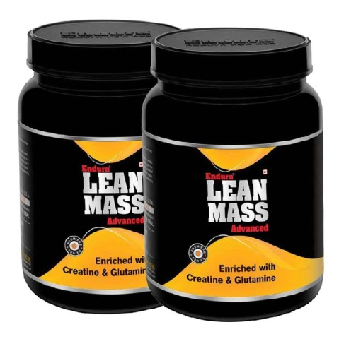 Endura Lean Mass Advanced - Pack of 2, Chocolate 2.2 lb