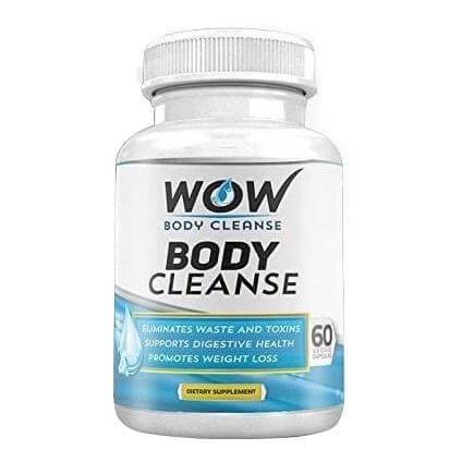 WOW Body Cleanse,  60 veggie capsule(s)  Unflavoured