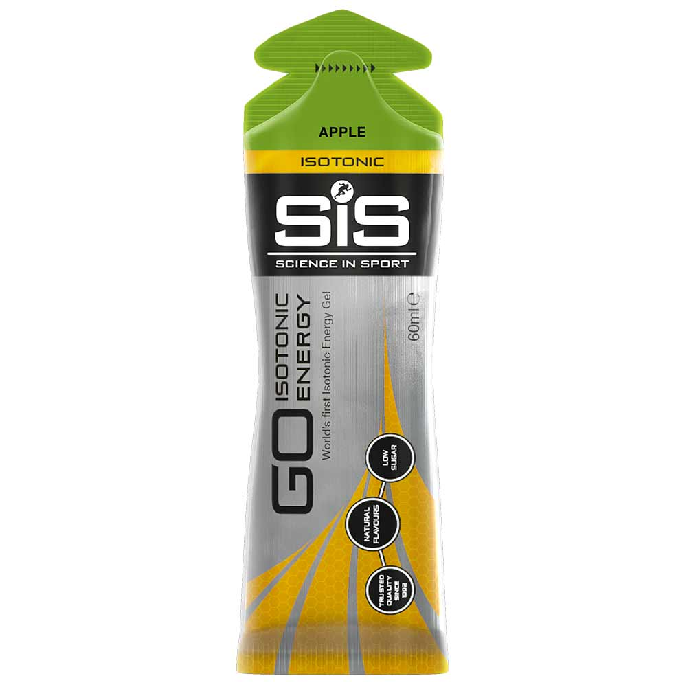 2 - Science In Sport SIS Gel Go Isotonic Energy,  15 Piece(s)/Pack  Apple