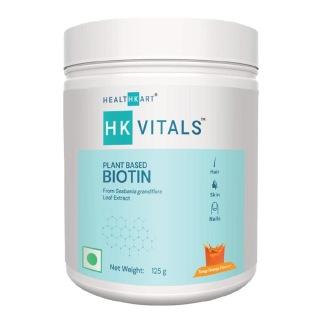 2 - HealthKart Vital Plant based Biotin,  125 g  Tangy Orange