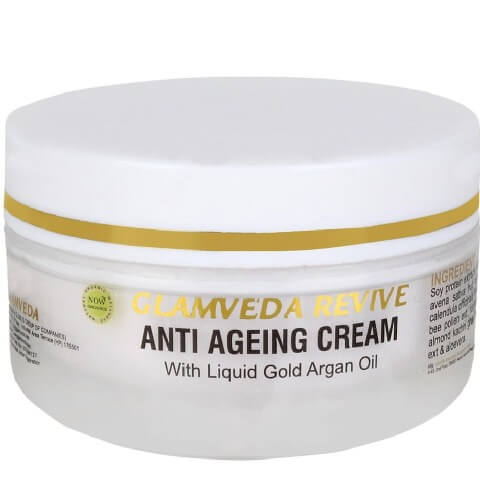 GLAMVEDA Anti Ageing Cream,  50 g  All Skin Type