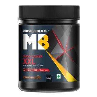 4 - MuscleBlaze Mass Gainer XXL,  1.1 lb  Chocolate