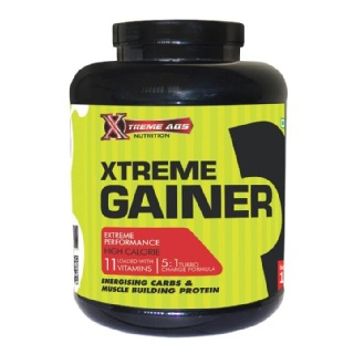 Xtreme Abs Nutrition Xtreme Gainer,  4.4 lb  Vanilla