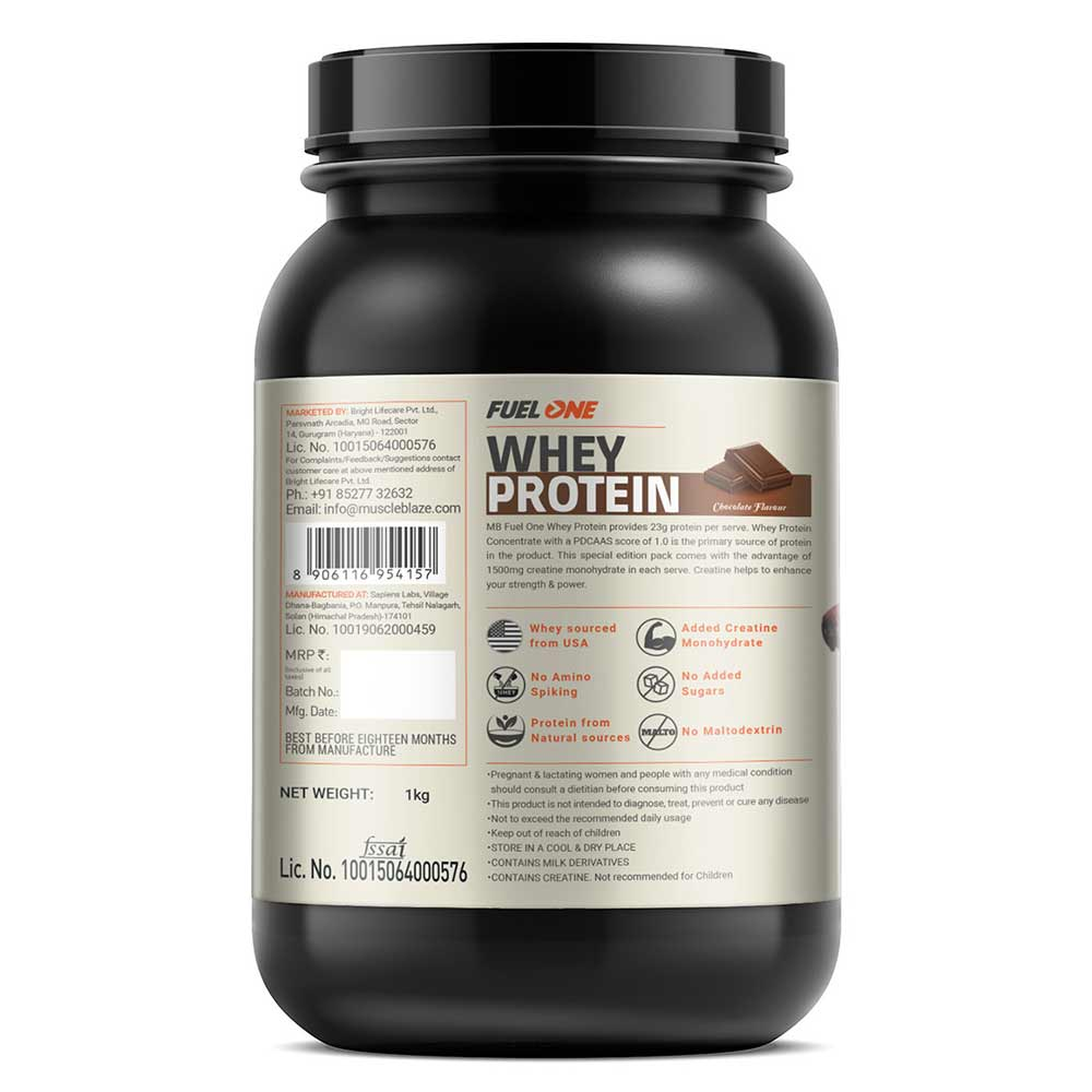 3 - MB Fuel One Whey Protein with Creatine,  2.2 lb  Chocolate