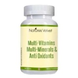 Natures Velvet Multi-Vitamins Multi-Minerals & Anti Oxidants,  Unflavoured  60 Tablet(s)