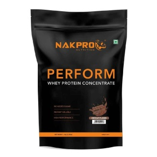 1 - Nakpro Perform Whey Protein Concentrate,  2.2 lb  Chocolate