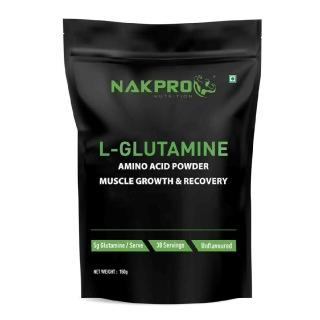 1 - Nakpro L-Glutamine,  0.33 lb  Unflavoured