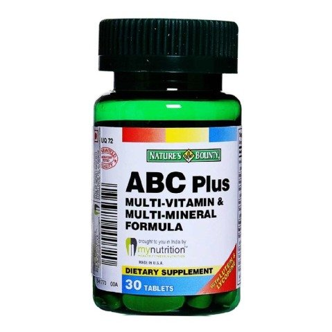 Nature's Bounty ABC Plus,  Unflavoured  30 tablet(s)