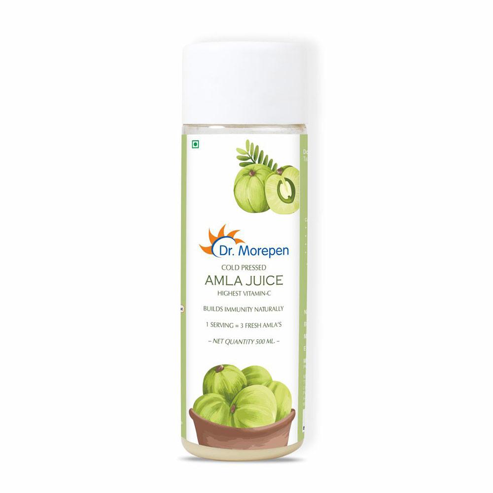 1 - Dr. Morepen Amla Juice,  Unflavoured  500 ml