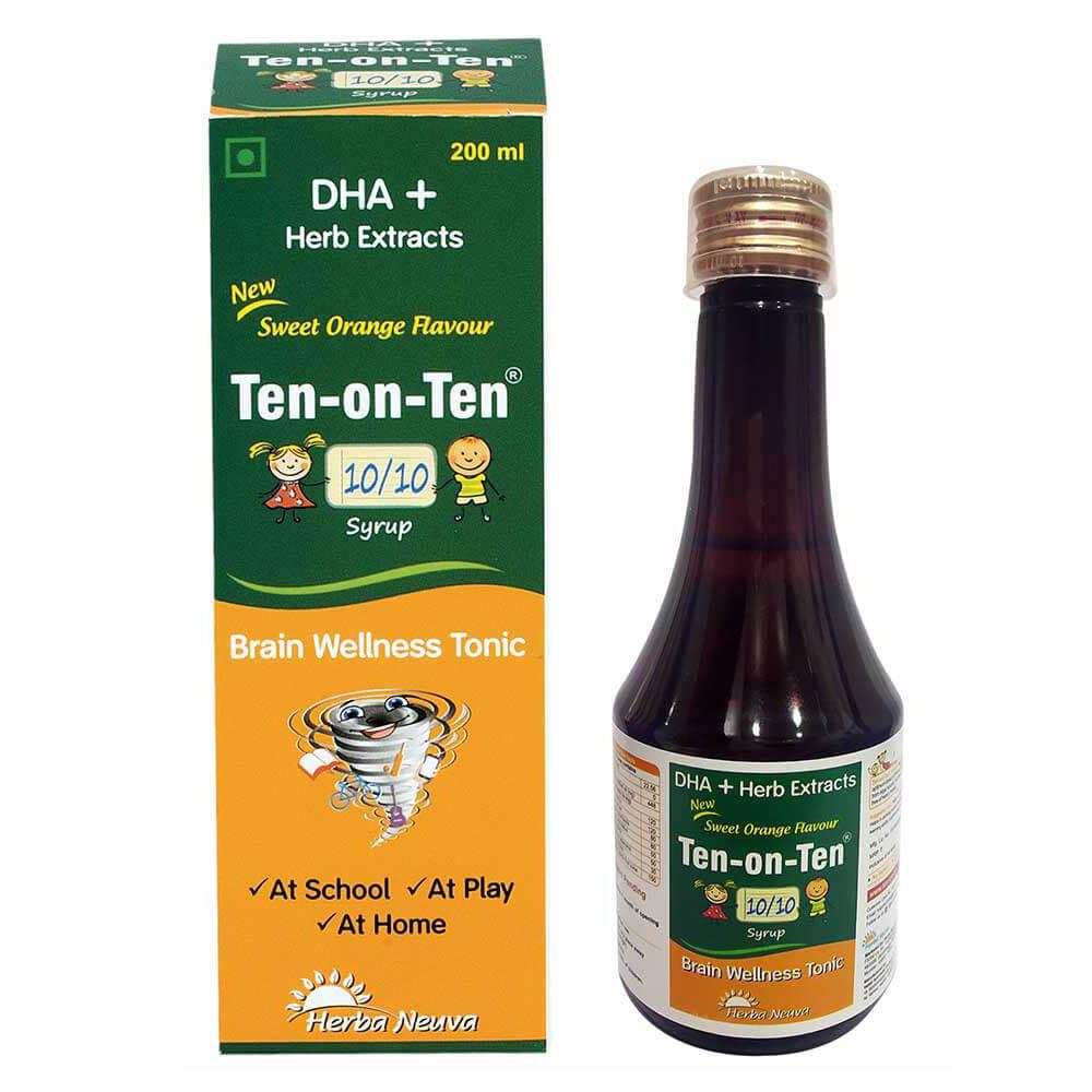 1 - Herba Neuva Ten-on-Ten Syrup,  200 ml