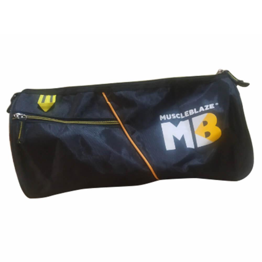 2 - MuscleBlaze Phirse Zidd Kar Gym Bag,  Black