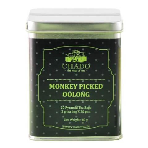 Chado Tea Monkey Picked Oolong,  Unflavoured  20 Tea Bag(s)