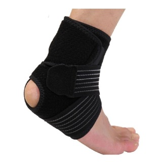 B Fit USA Ankle Support (2036), Grey, Black & Blue 15*10*5 cm