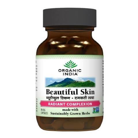 Organic India Beautiful Skin,  60 capsules