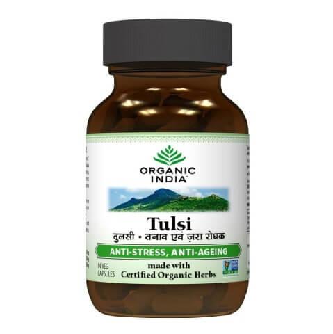 Organic India Tulsi,  60 capsules