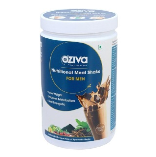 Oziva Nutritional Meal Shake for Men,  0.5 kg  Chocolate