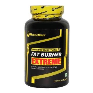 MuscleBlaze Fat Burner Extreme,  90 veggie capsule(s)  Unflavoured