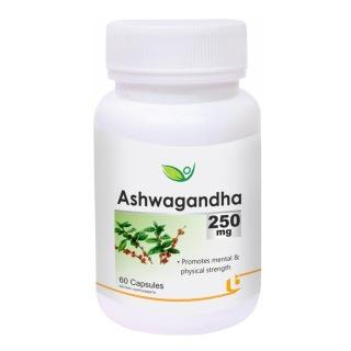 Biotrex Ashwagandha (250 mg),  60 capsules