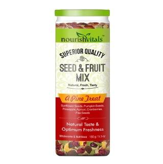 NourishVitals Seed & Fruit Mix,  A Pine Treat  0.150 kg